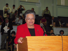Secretary JudyAnn Bigby, M.D. testified at the hearing