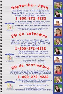 Kids Coverage Phonathon September 29