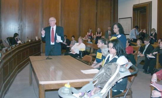 Advocates Testify for Restoration of MassHealth dental care 5-3-11
