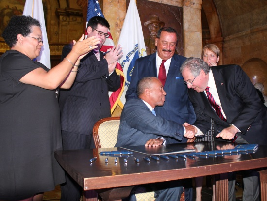 Governor Patrick Payment Reform Signing