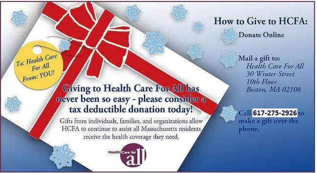 Giving to HCFA has never been so easy