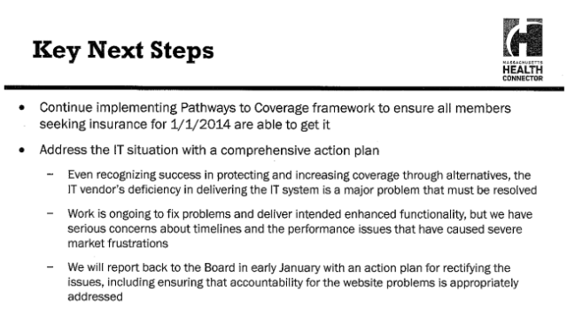 Connector 12-12-13 slide - Next Steps