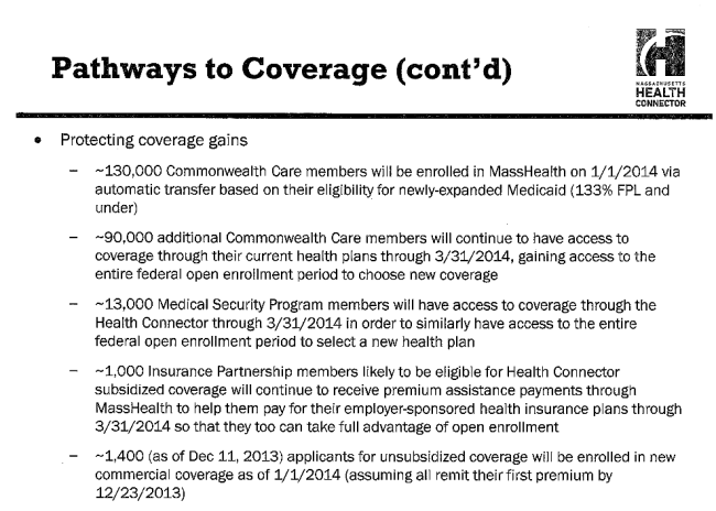 Connector Slide: Protecting existing coverage