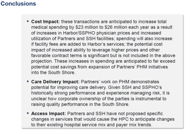 HPC Partners South Shore conclusions 12-18-13