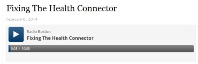 Radio Boston Connector story 2-6-14